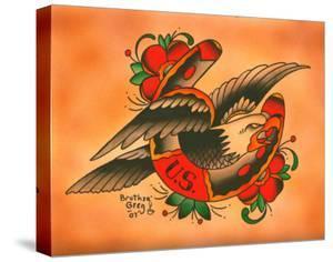 Eagle Horseshoe by Brother Greg