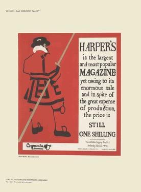 Harper's Magazine by Brothers Beggarstaff
