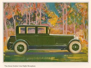 Brougham Car, Magazine Advertisement, USA, 1925