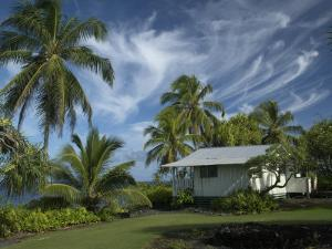 House at Kalahu Point near Hana, Maui, Hawaii, USA by Bruce Behnke
