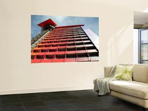 Exterior View of Radical Design Hotel-Hotel Puerta America by Architect Jean Nouvel by Bruce Bi