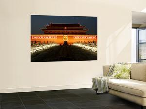 Night at Tiananmen, the Gate of Heavenly Peace by Bruce Bi