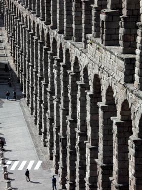 Roman Aqueduct (Aqueduct of Segovia) by Bruce Bi