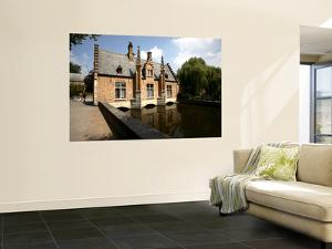 The Dam House over Canal of Minnewater by Bruce Bi