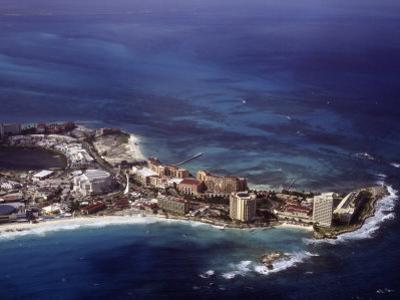 Aerial View of Cancun, Mexico