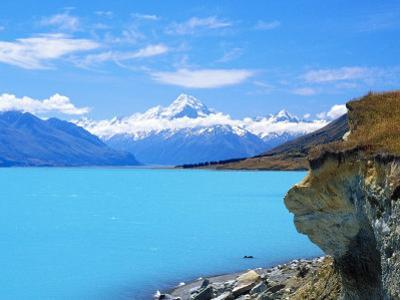 Eastside of Mount Cook, New Zealand