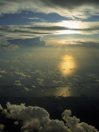 Florida Coastline, Aerial View