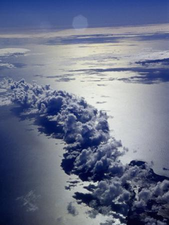 Ocean and Clouds by Bruce Clarke