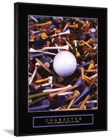 Character: Golf Tees by Bruce Curtis