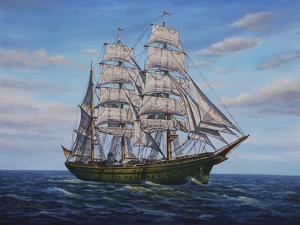 Clipper Ship by Bruce Dumas