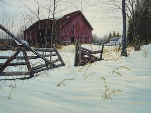 Oxford Barn by Bruce Dumas