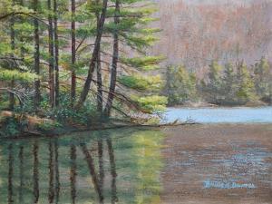 Pine Lake by Bruce Dumas