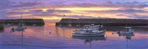 Rockport, Ma Sunset by Bruce Dumas