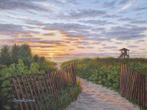 Sunrise at Delray Beach by Bruce Dumas