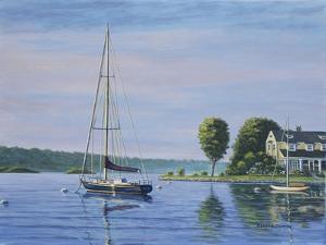Watch Hill Harbor by Bruce Dumas