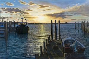 Westport Harbor, MA by Bruce Dumas