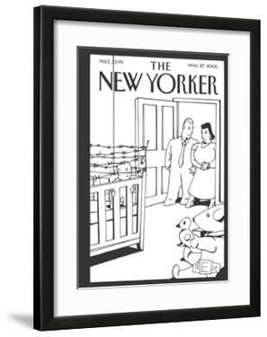 The New Yorker Cover - March 27, 2006 by Bruce Eric Kaplan