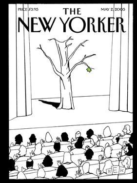 The New Yorker Cover - May 2, 2005 by Bruce Eric Kaplan