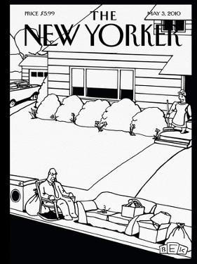The New Yorker Cover - May 3, 2010 by Bruce Eric Kaplan