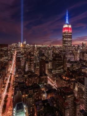 9-11 New York by Bruce Getty