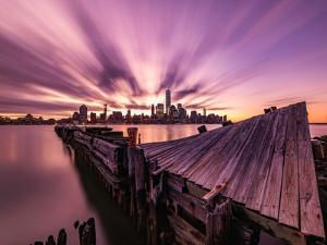 Morning Explosion by Bruce Getty