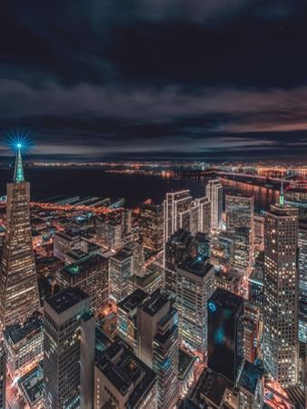 San Francisco Look Down 5 by Bruce Getty
