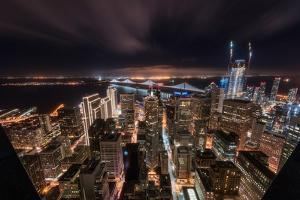 SF Look Down by Bruce Getty