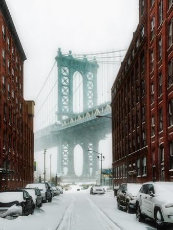 The New York Blizzard by Bruce Getty