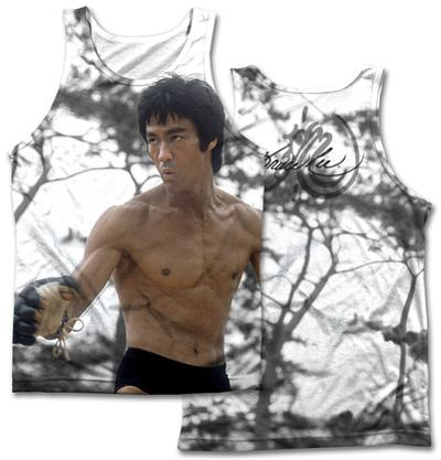 Bruce Lee- Battle Ready (Front/Back Print)