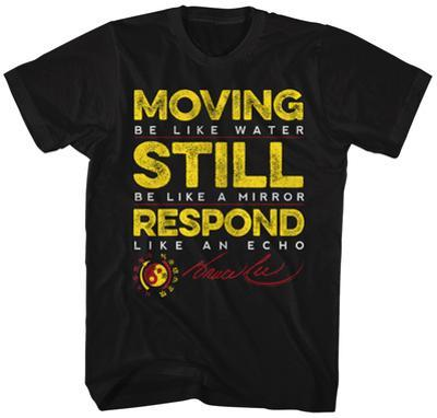 Bruce Lee- Movig Still Reposnd Distressed