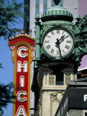 Landmarks on Two State St, Chicago, IL by Bruce Leighty