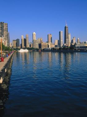 North Loop of Chicago from Navy Pier by Bruce Leighty
