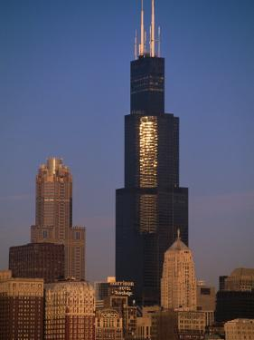 Sears Tower at Sunrise by Bruce Leighty