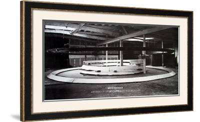 Installation at Leo Castelli's by Bruce Nauman