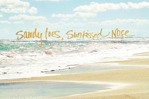 Sandy Toes, Sunkissed Nose by Bruce Nawrocke