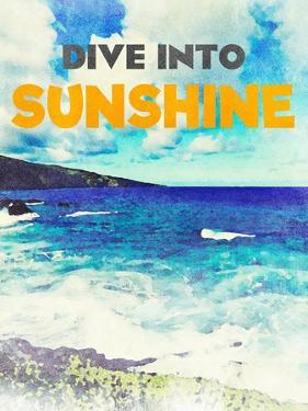Sunshine and Waves I by Bruce Nawrocke