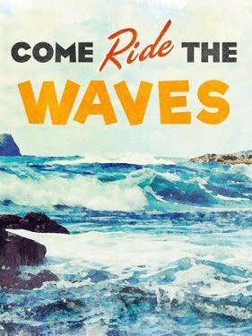 Sunshine and Waves II by Bruce Nawrocke