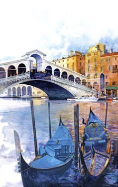 Rialto Bridge - Venice Italy by Bruce White
