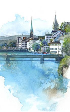 Zurich, Switzerland by Bruce White