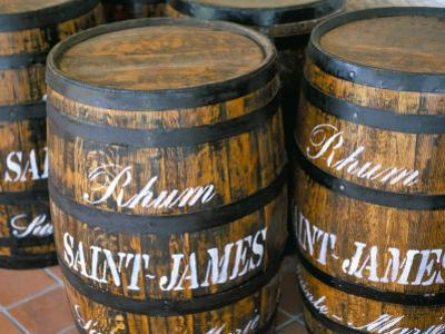Barrels of Rum, French Antilles, West Indies, Central America by Bruno Barbier