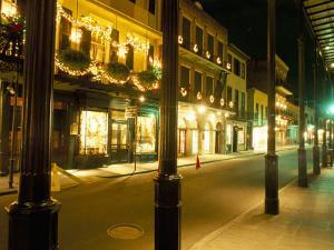 French Quarter at Night, New Orleans, Louisiana, USA by Bruno Barbier