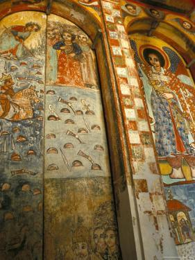 Narga Selassi Church, Isle of Dek, Lake Tana, Gondar Region, Ethiopia, Africa by Bruno Barbier