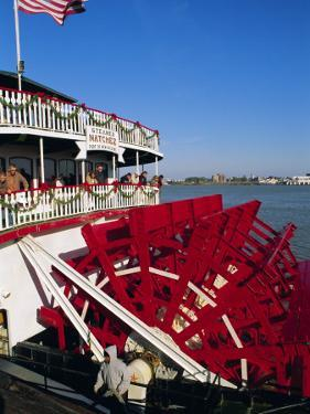 Paddle Steamer 'Natchez' on the Mississippi River, New Orleans, Louisiana, USA by Bruno Barbier