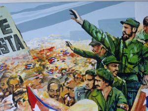 Revolutionary Art, Museum of the Revolution, Havana, Cuba by Bruno Barbier