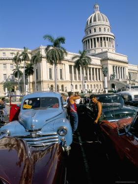 Science Museum, Former Chamber of Represtatives, Capitole, Havana, Cuba by Bruno Barbier