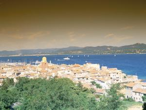 St. Tropez, Var, Cote d'Azur, Provence, French Riviera, France, Mediterranean by Bruno Barbier