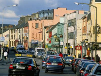 Town Centre, Galway, County Galway, Connacht, Eire (Ireland) by Bruno Barbier
