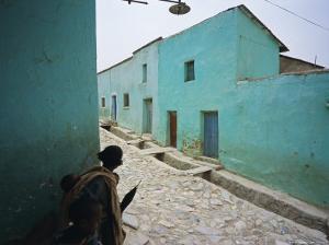 Village of Adua, Tigre Region, Ethiopia by Bruno Barbier