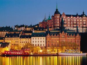 Buildings in Stockholm by Bruno Ehrs
