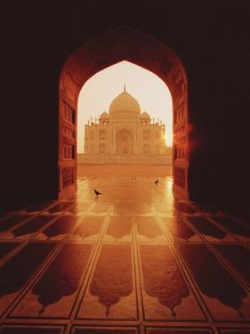 Taj Mahal by Bruno Ehrs